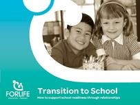 Transition to School - Preparing children for their journey into school